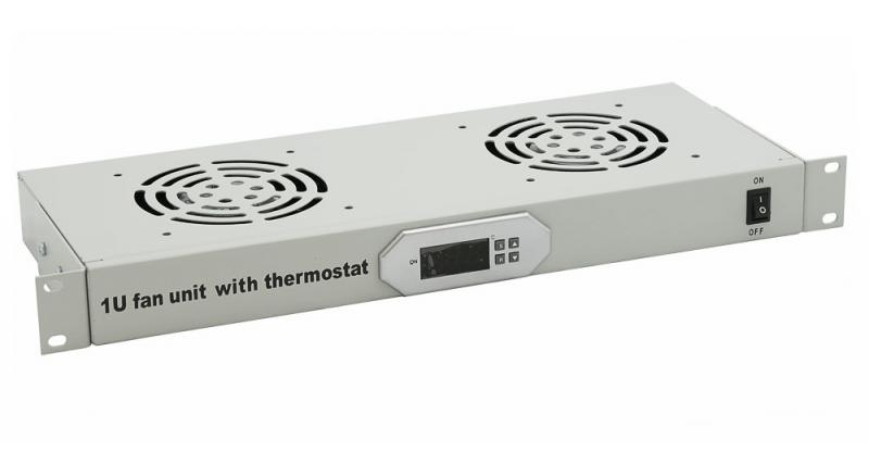 Полка вентиляторная 2Fan 220V+ шнур  IT CONNECT