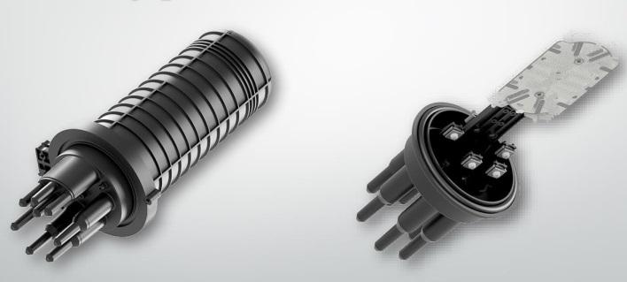 Муфта на 144 оптических волокна тупиковая МВОТ