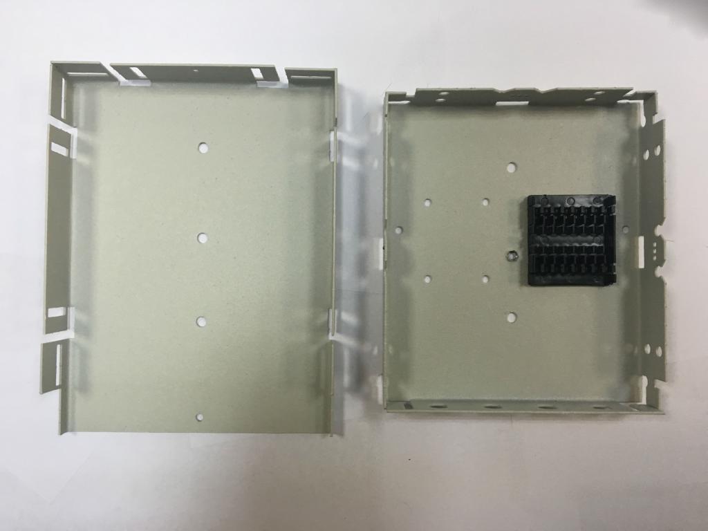 Оптический кросс настенный FC-4 микро