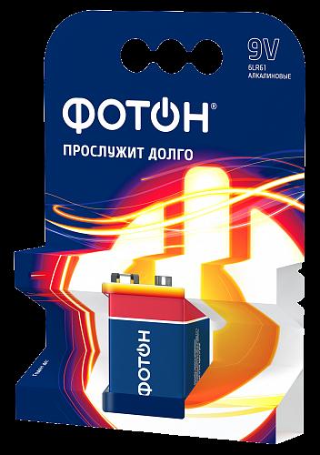 Алкалиновая батарейка 6LR61 (