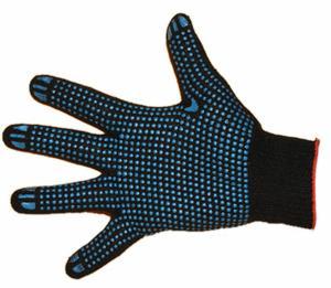 Перчатки ХБ + ПВХ (4 ниток) класс 10
