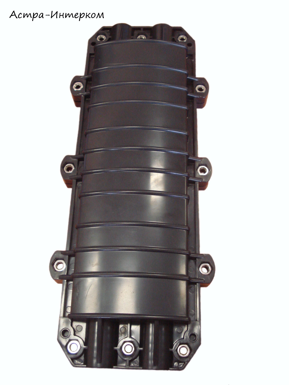 Муфта на 96 оптических волокон, проходная