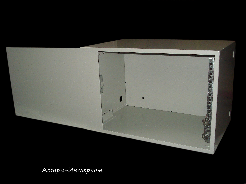 Ящик антивандальный 6U эконом (верт. направляющие) 530Х350X350