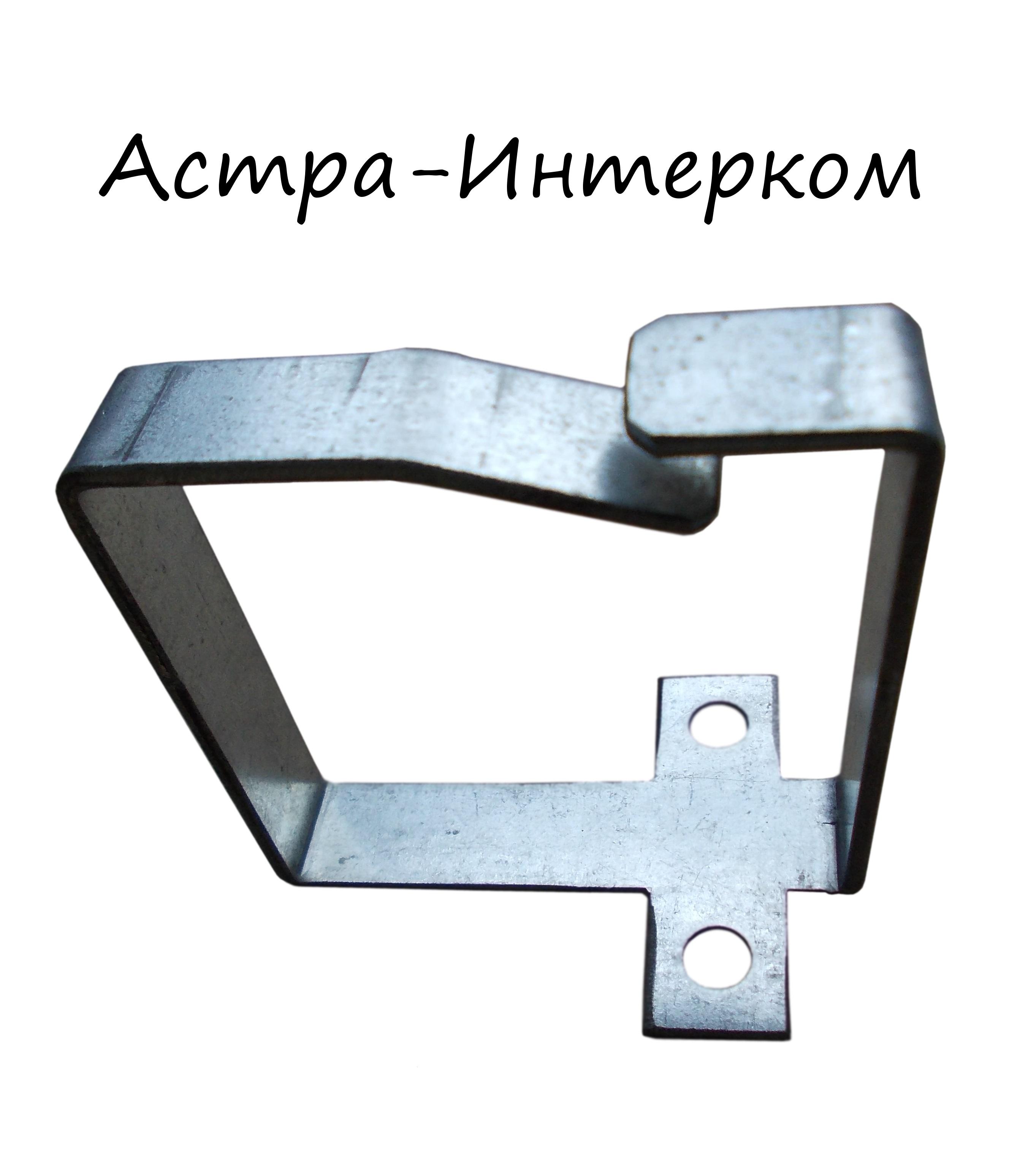 Вертикальный кабельный держатель (скобка) 60х60мм