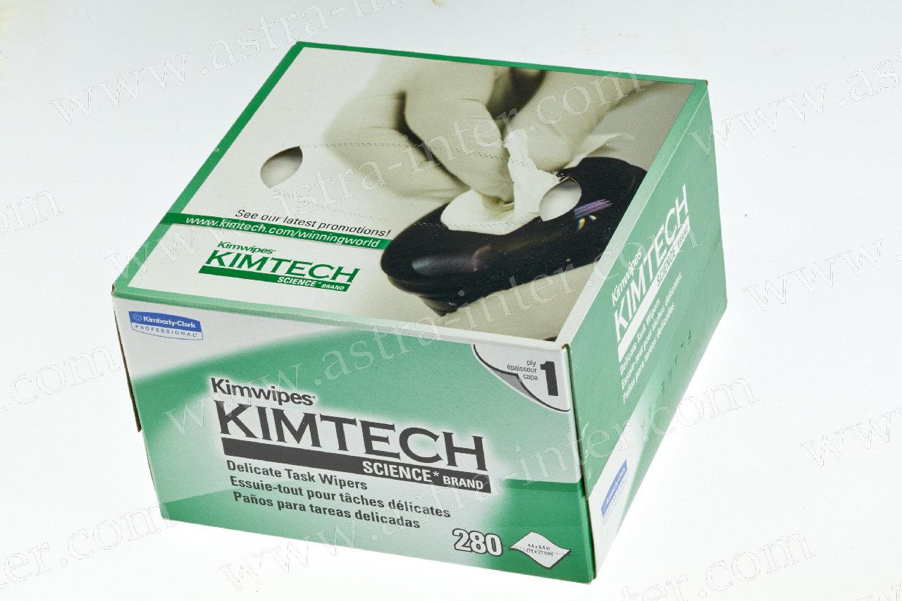 Салфетки для протирки оптического волокна Kimwipes