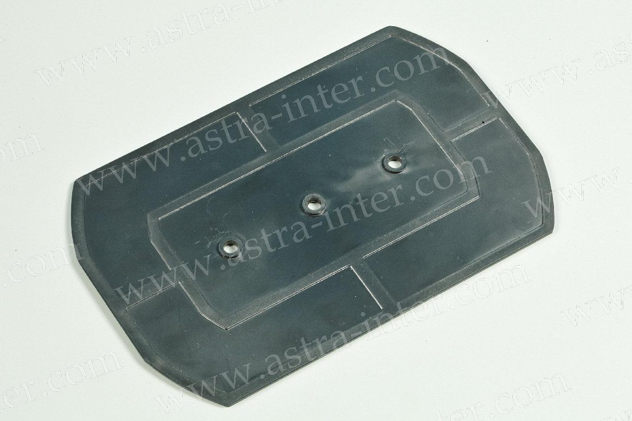 Крышка кассеты КУ-01 (черная)