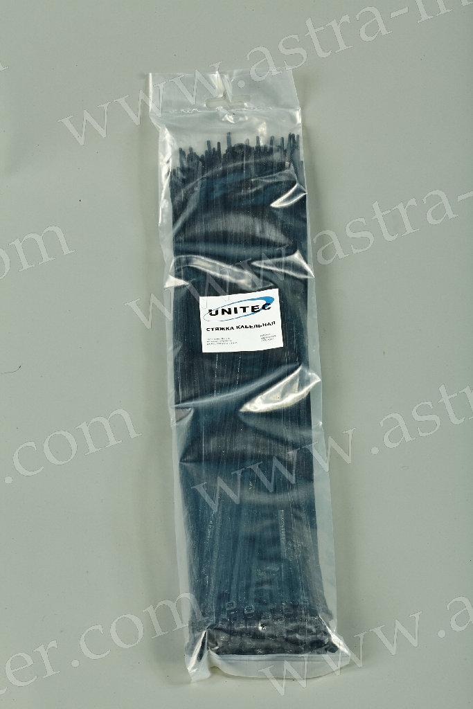 Хомут-стяжка кабельная 350х5 мм (черн.) (уп.100шт.)
