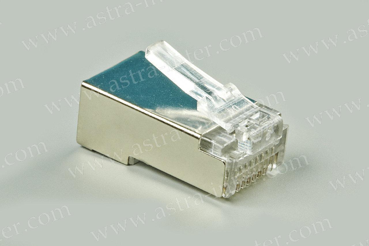 Вилка (коннектор) RJ-45 8P8C FTP (экранированная) кат 6