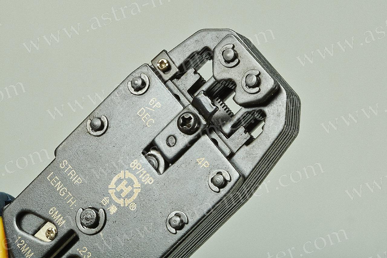 НТ (TL)-200R Клещи обжимные 8Р-8С, 6Р-4С, 4Р-4С