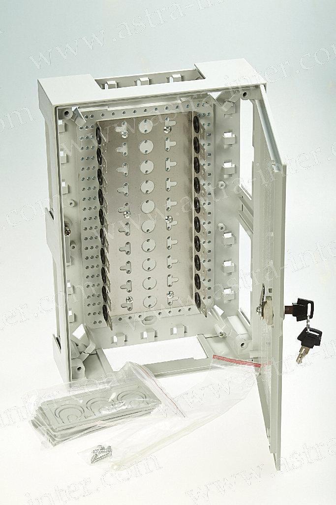 Бокс KRONECTION Box III на 100 пар с монетной поворотной задвижкой