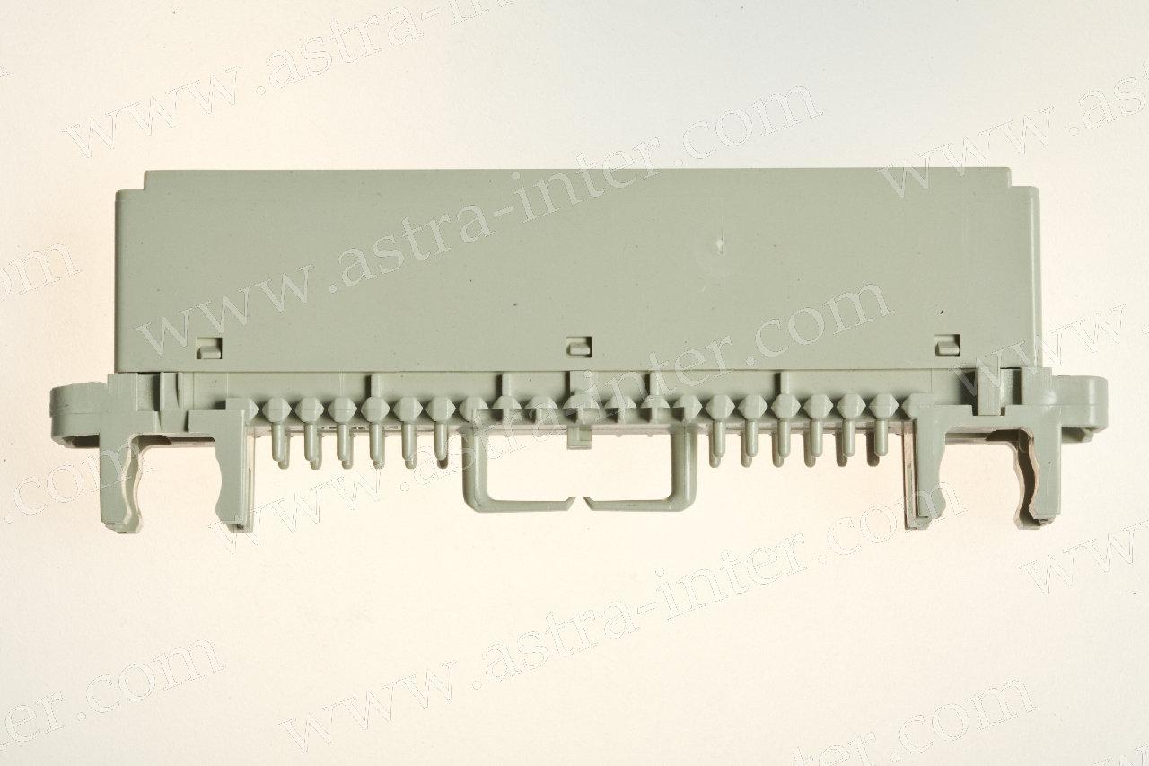 Модульная рамка 2/10 с табличкой  (аналог 6753 2 009-00)