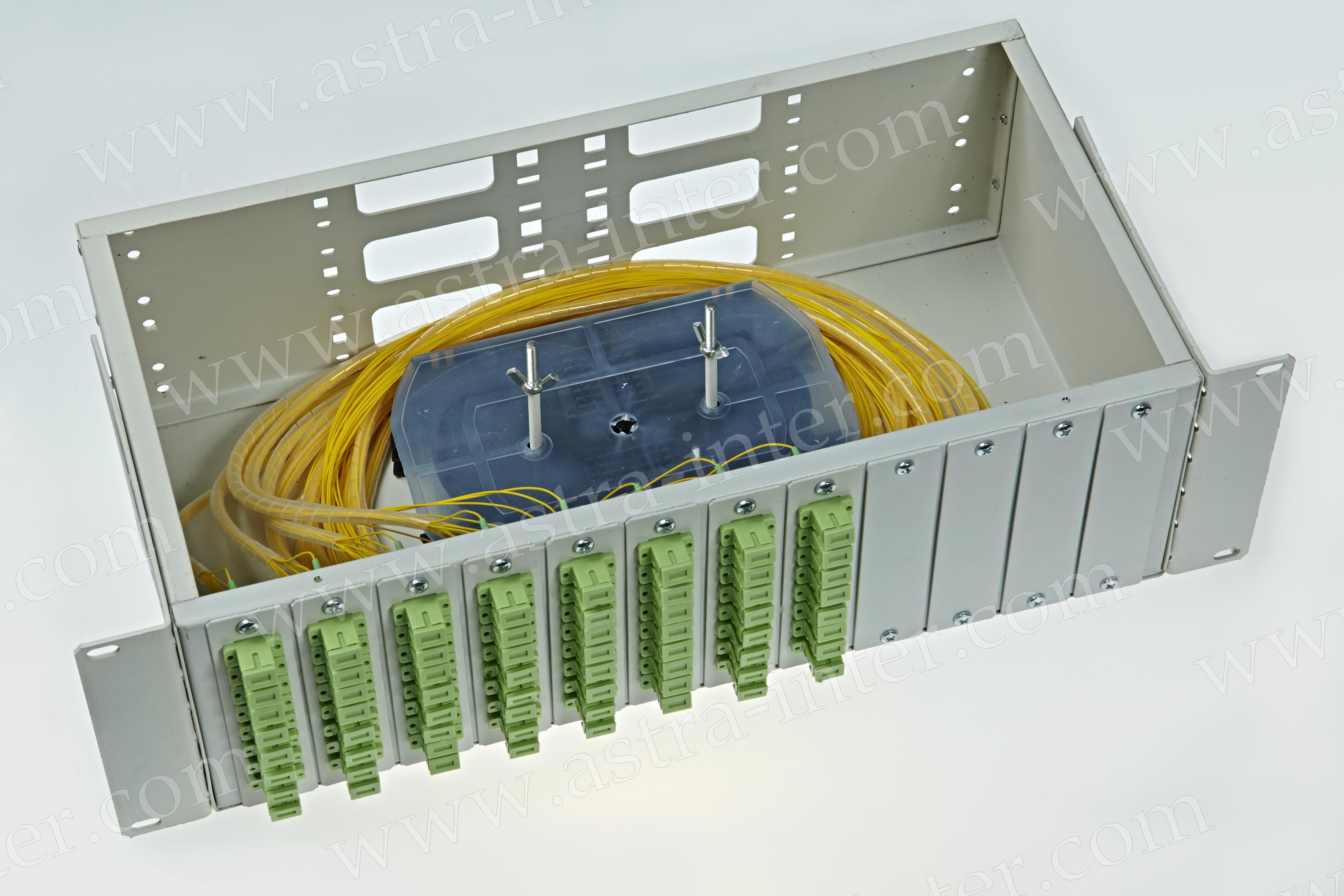 Оптический кросс в стойку R64-3U-SC-64