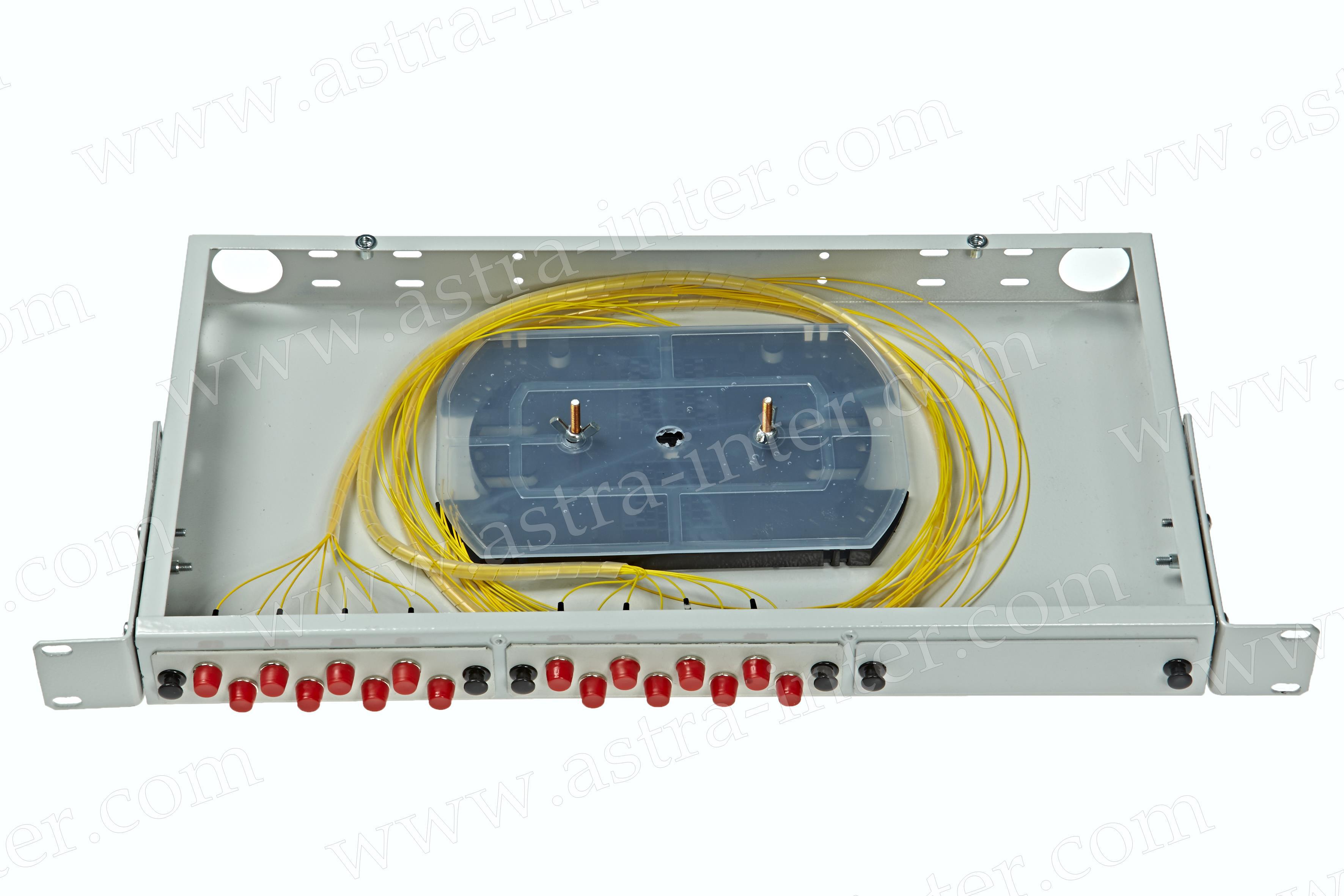 Оптический кросс в стойку R16-1U-FC-16