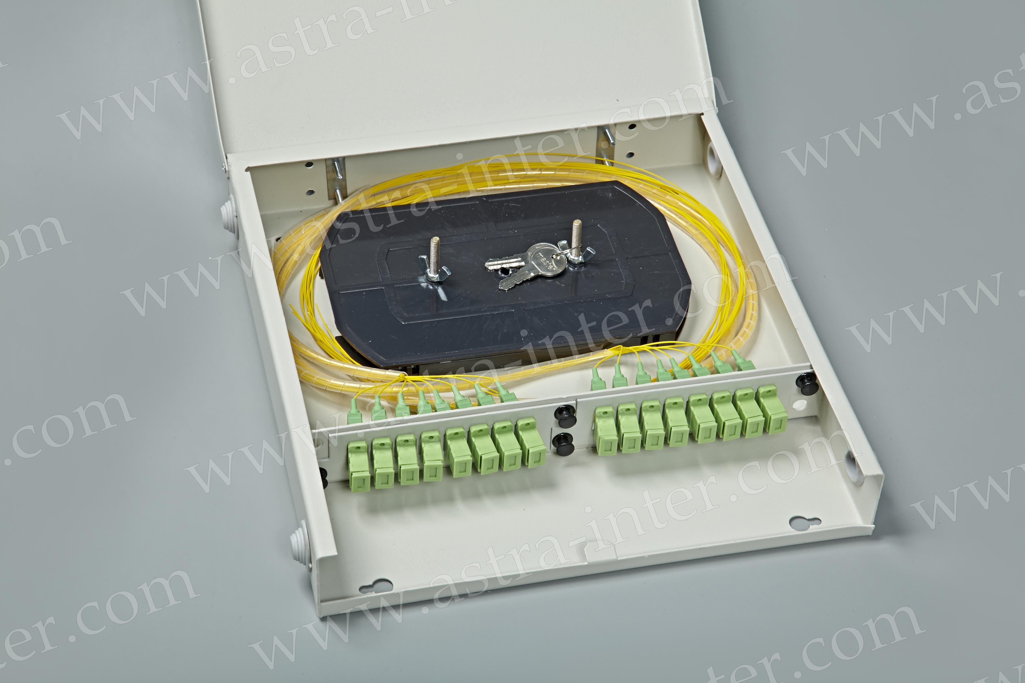 Оптический кросс настенный SC-16