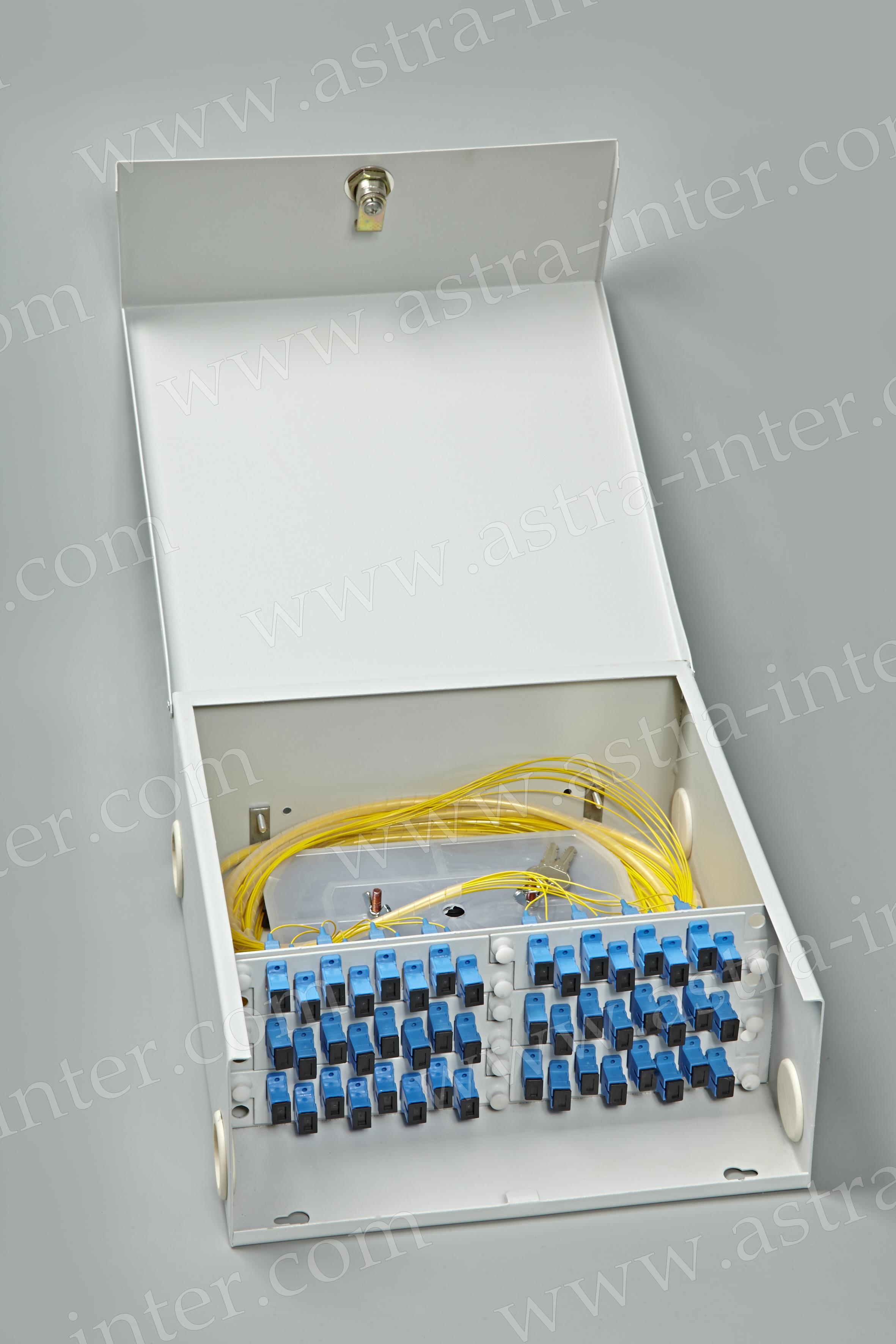 Оптический кросс настенный SC-48