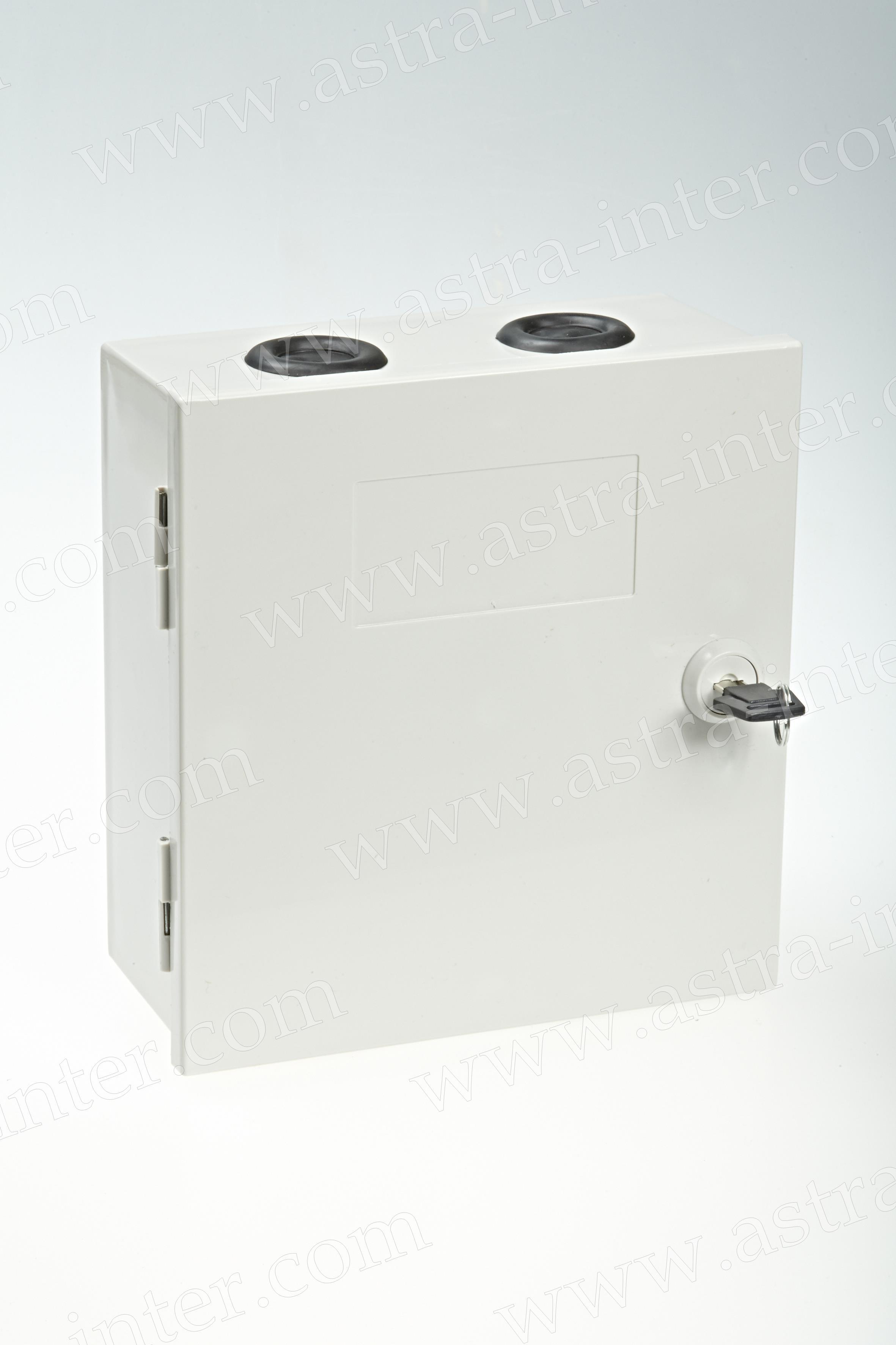 6. Коробка распределительная под установку 3 плинтов тип KRONE. Пластик.