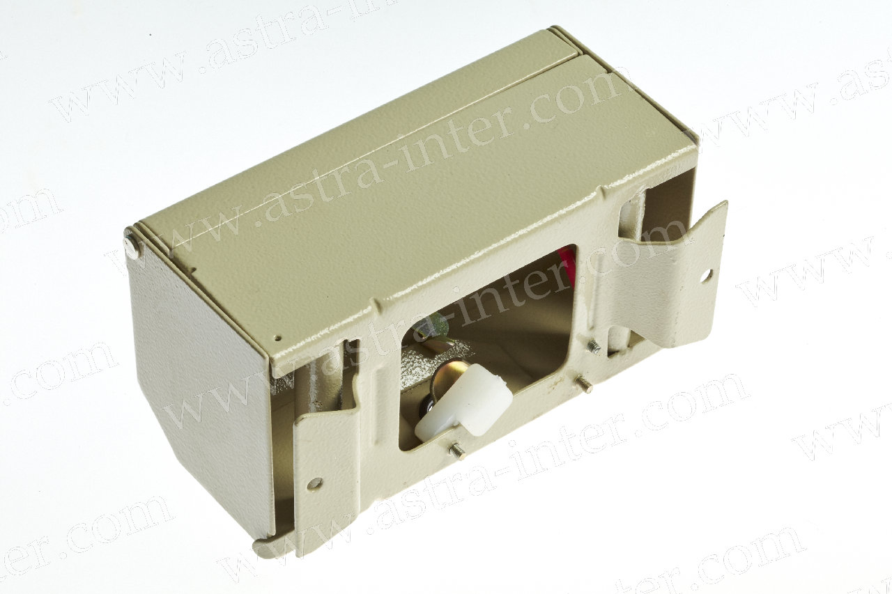 Коробка распределительная КРТМ 2/10 на 10 пар с замком (металл) LANMAX
