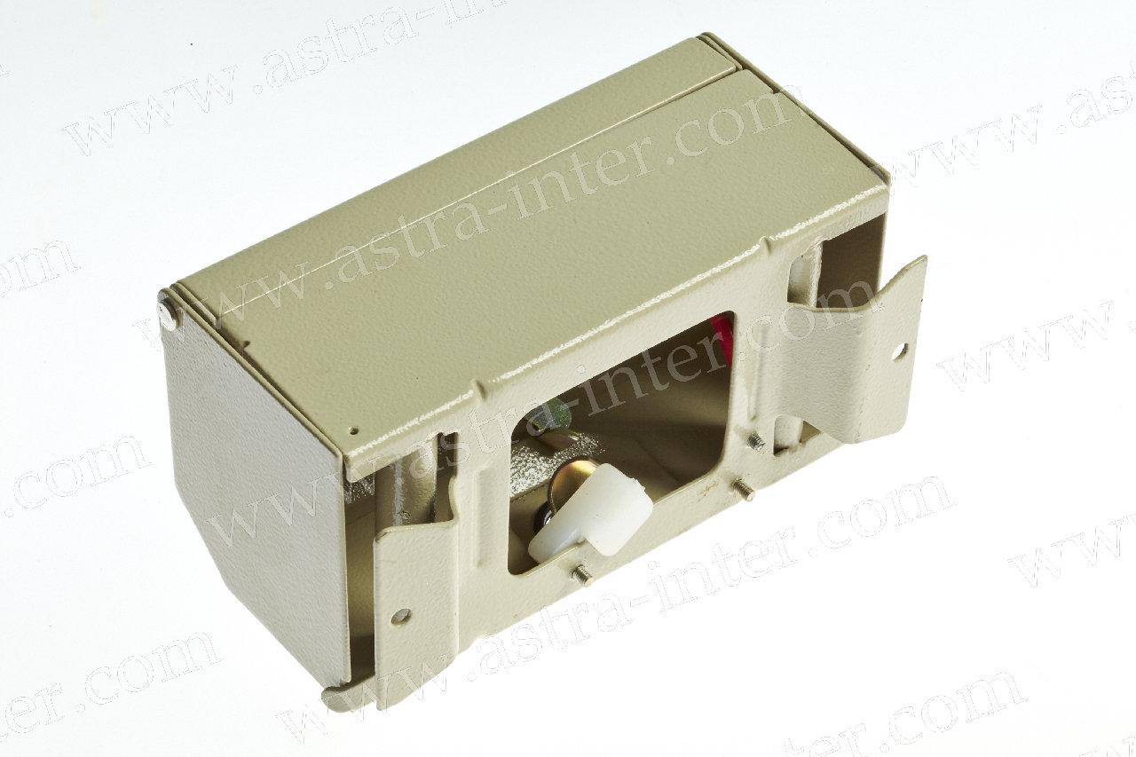1. КРТМ 2/10. Коробка распределительная под установку 1 плинта тип KRONE. Металл.