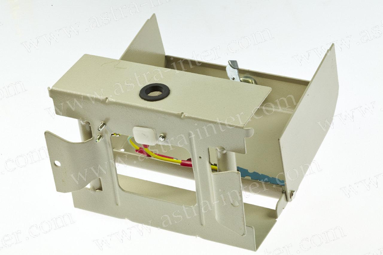 Коробка распределительная на 20 пар с замком (металл)