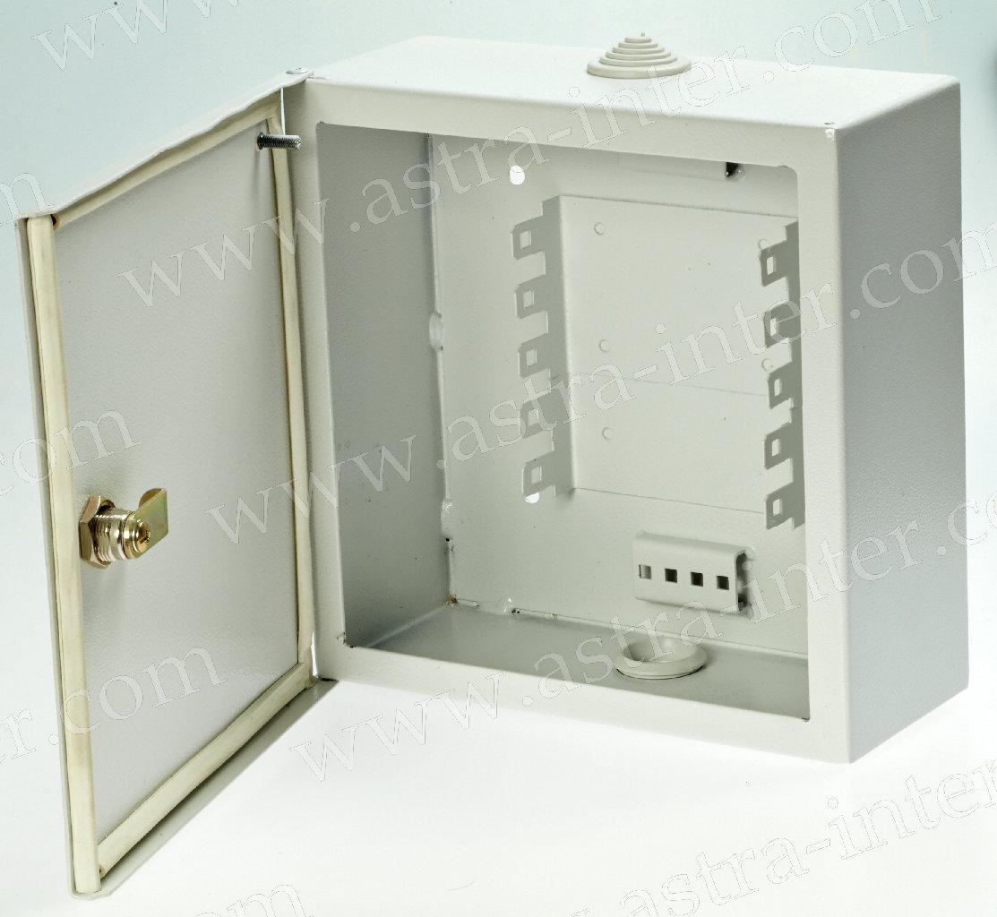 Шкаф настенный ШНР-50. Под установку 5 плинтов типа KRONE. Металл