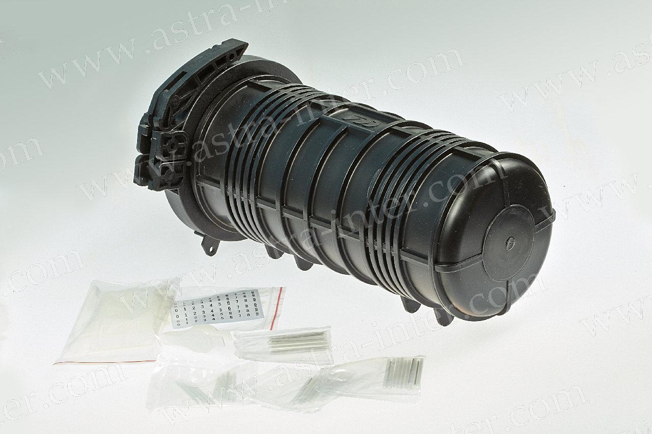 Муфта на  64 оптич. волокон, тупиковая, GPJ-Q герметизация термоусадкой