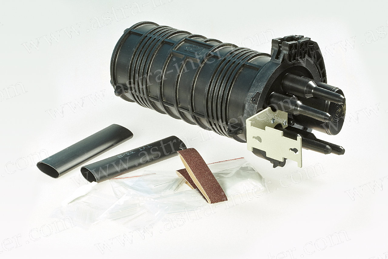 Муфта оптическая МТОК-Л6/108-1КТ3645-К (фиксация ОК с помощью ТУТ)