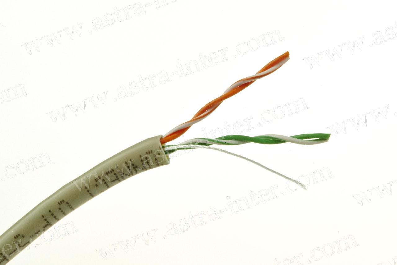 Кабель UTP 2х2 24AWG в/пара 5 категории 305м IT CONNECT