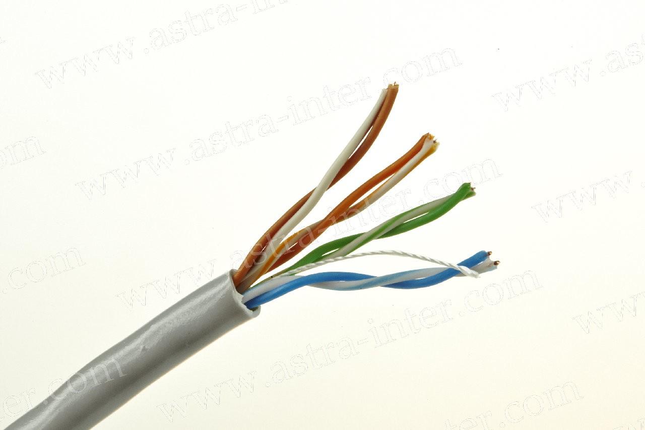 Кабель UTP 4х2 24AWG в/пара 5е категории 305м LSZH  IT-CONNECT(аналог нг(A)- HF)