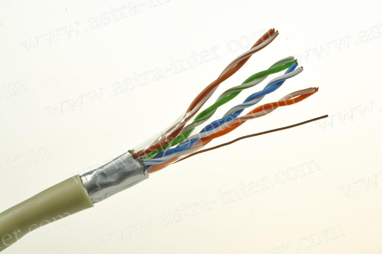 Кабель FTP 4х2 24AWG+экран 305м Кат.5e IT CONNECT