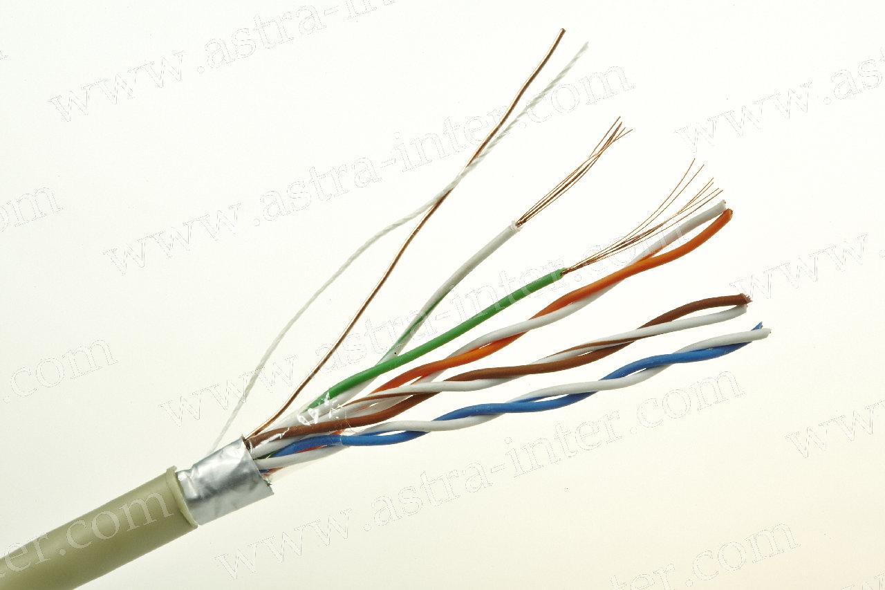 Кабель FTP 4 х 2 + экран 305м Кат.5e многожильная LANMAX®