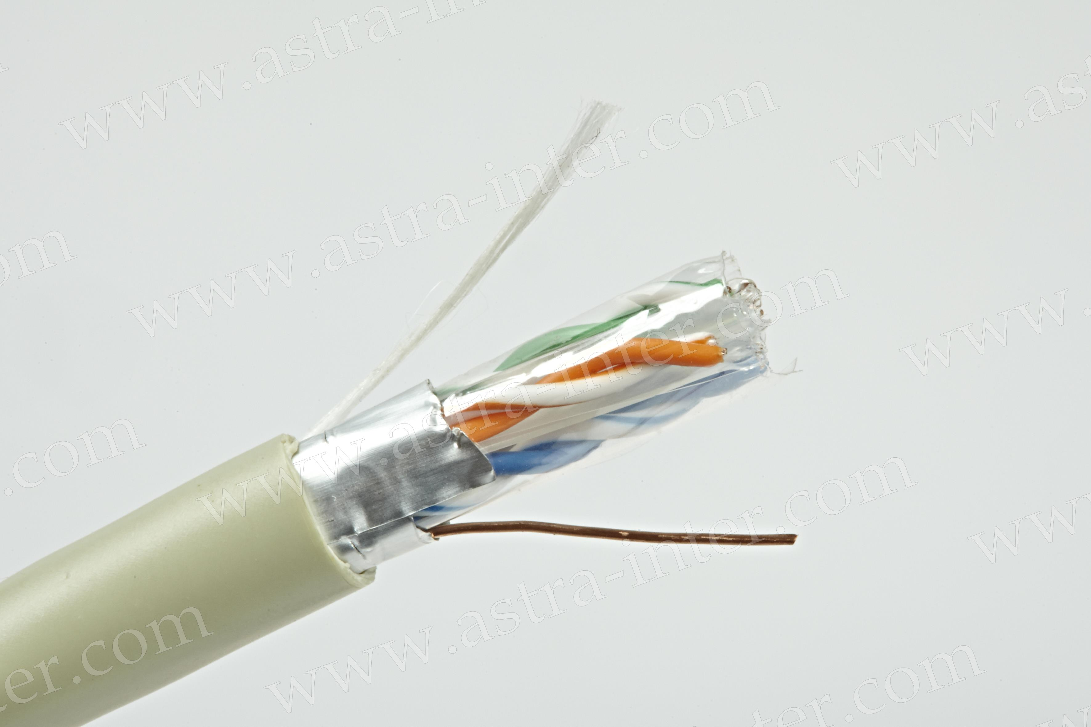 Кабель FTP 4x2x0.575 экран 305м КAT.6 LANMAX®