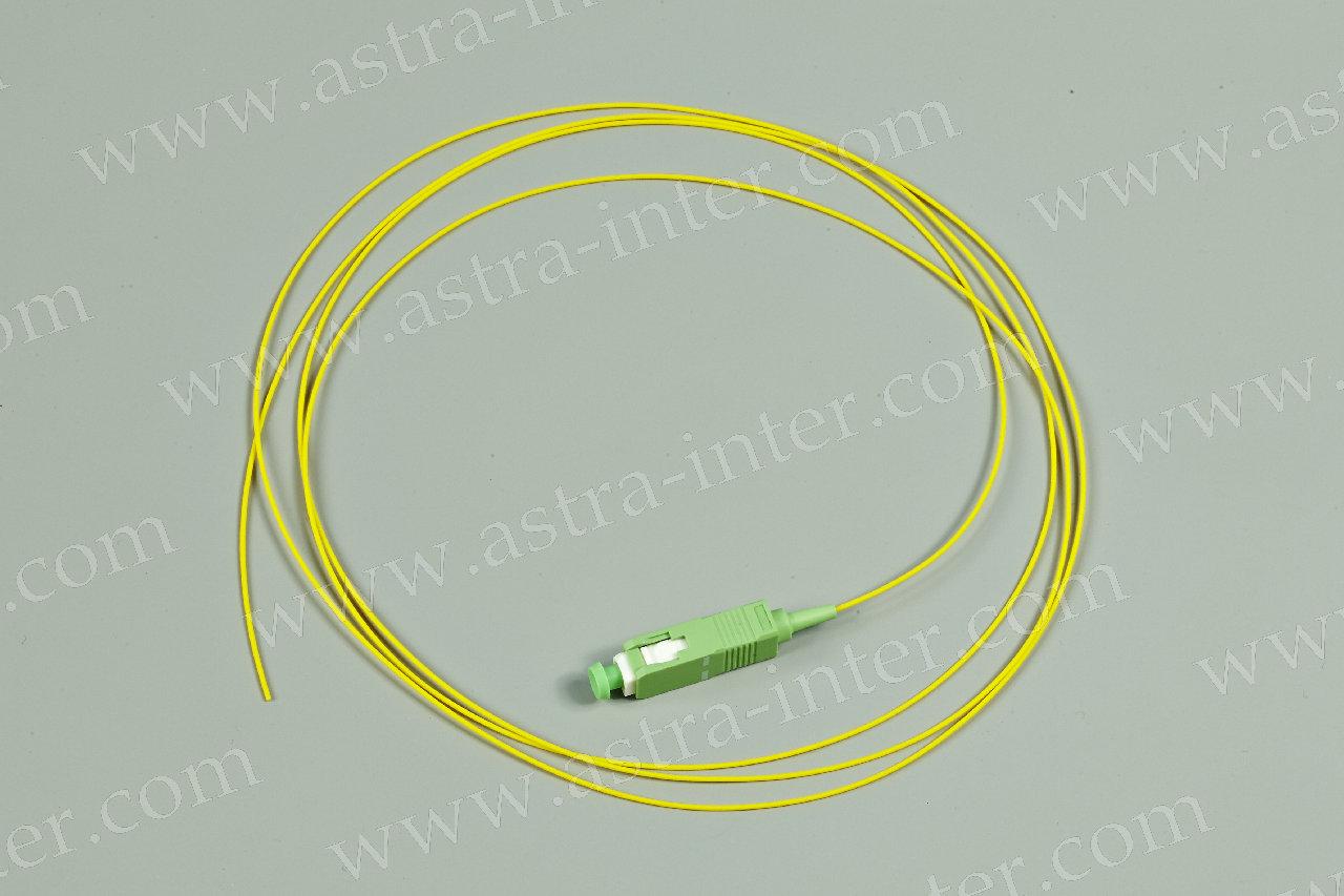 Оптоволоконный пигтейл SC/APC SM 1,5 м
