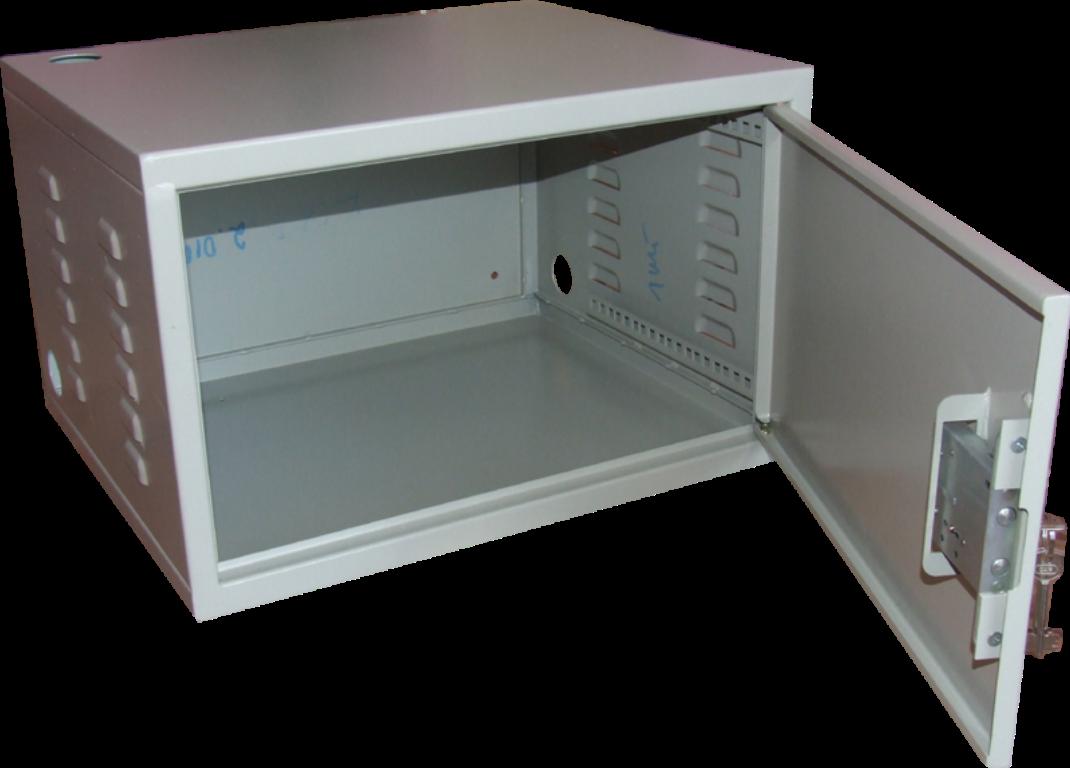 Ящик антивандальный 6U эконом (горизонт. направляющие) 530Х350