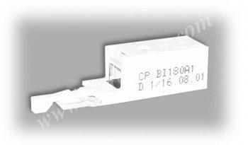 Штекер комплексной защиты ComProtect 2/1 СР BI 180 А1, 1 комплект = 10 шт.+ 1 шинa заземления 2/10