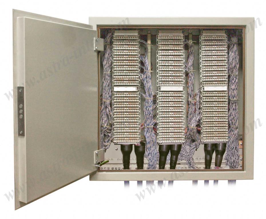 9.4. ШНР-600. Шкаф настенный  под установку 600 плинтов типа KRONE. Металл.
